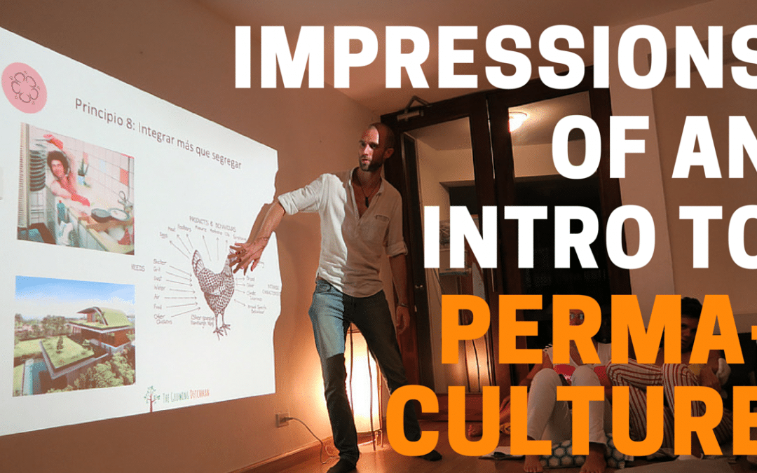 Video: Impressions Presentation Introduction to Permaculture