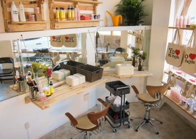 The Growing Dutchman - Miss Rizos Salon - Sustainable Interior Design - Natural Hair Salon-14