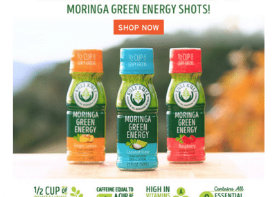 The Growing Dutchman - KuliKuli Moringa Energy Shots Available in WholeFoods