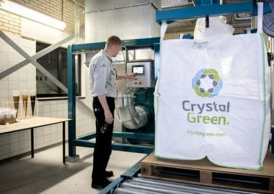 Production of Crystal Green Struvite from Dutch Waste Water2