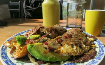 Gluten Free Yuca & Sweet Potato Pancakes