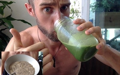 First TGD Post Ever: Green Spinach & Moringa Smoothie + Amaranth Porridge