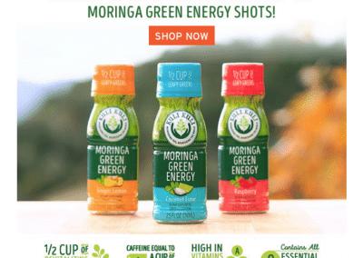 The Growing Dutchman - KuliKuli Moringa Energy Shots Available in WholeFoods