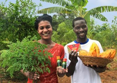 The Growing Dutchman - KuliKuli Moringa Energy Shots Available in WholeFoods - Haitian Smallholder Farmers Press Release SFA