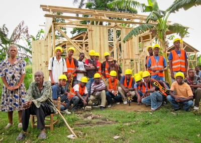 The growing Dutchman Chris Kaput Cordaid Haiti Post earthquake reconstruction Haiti owner driven reconstruction shelter program communication community development NGO Haiti Shelter construction