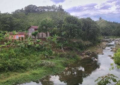 Mahoma Original House and River