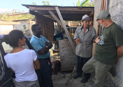 Growing Dutchman Puerto Rico Organic Cotton and Natural Fiber Project - Talking with Local Farmer Don Pepe about the HIstory of Cotton in Puerto Rico